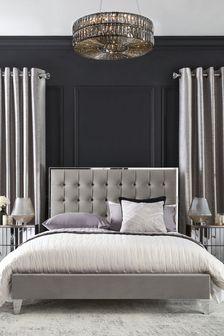 Portia Button Bed