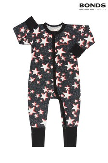 Bonds Black Star Zip Wondersuit