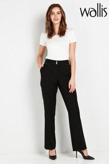 Wallis Tall Black PVL Trousers