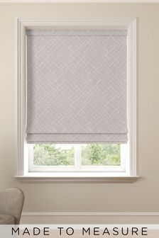 Arket Mauve Pink Made To Measure Roman Blind