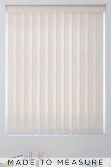 Abstract Texture Champagne Natural Made To Measure Vertical Blind