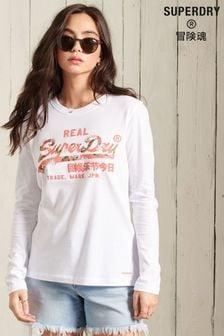Superdry Vintage Logo Infill Long Sleeve T-Shirt