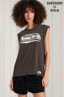 Superdry Cali Surf Graphic Vest