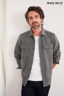 White Stuff Natural Wool Overshirt