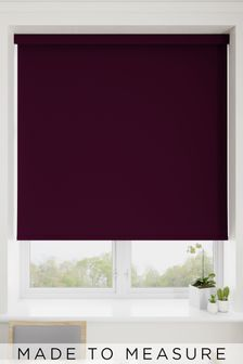 Haig Mulberry Purple Made To Measure Blackout Roller Blind