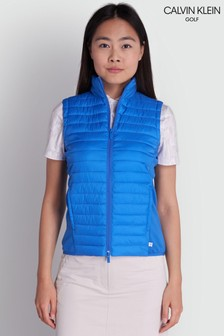 Calvin Klein Golf Blue Yarra Gilet