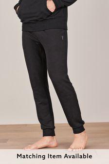 Black Cuffed Joggers Thermogen Loungewear