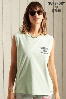 Superdry Cali Surf Classic Logo Vest