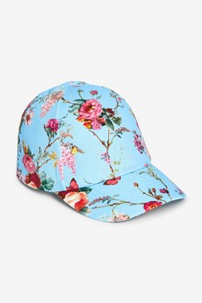 Duck Egg Floral Cap (Younger)