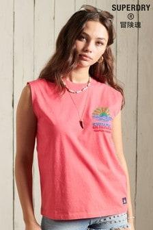 Superdry Cali Surf Graphic Vest