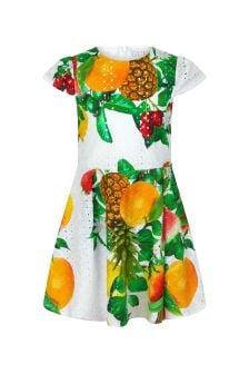 Guess Girls Multi Cotton Dress