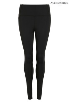Accessorize Black Full Length Leggings