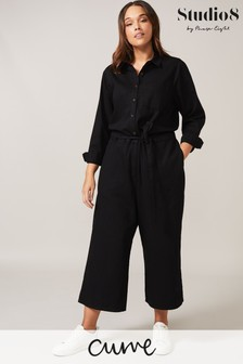 Studio 8 Black Jarah Demin Jumpsuit