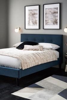 Petrol Blue Studio Bed