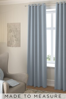 Windsor Sky Blue Made To Measure Curtains