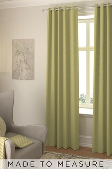 Windsor Sorbet Yellow Made To Measure Curtains