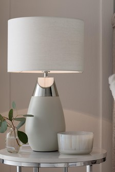 Grey Kit Large Touch Table Lamp