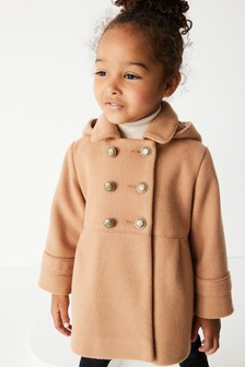 Camel Military Style Coat (3mths-7yrs)