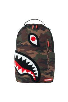 Kids Torpedo Shark Camo Backpack
