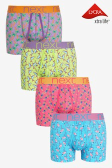 Summer Print A-Fronts Four Pack