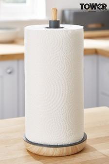 Scandi Kitchen Roll Holder by Tower