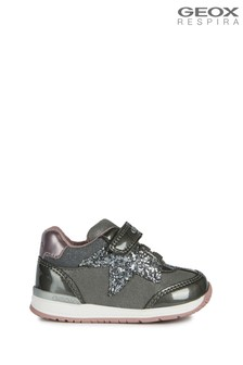 Geox Baby Girls Rishon Dark Grey Shoes