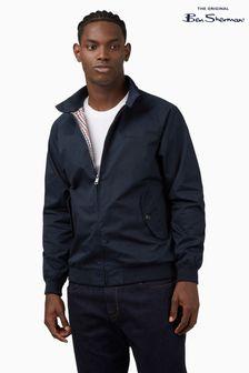 Ben Sherman Navy Signature Harrington Jacket