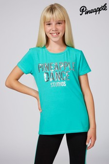 Pineapple Sequin T-Shirt