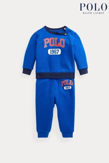 Ralph Lauren Blue Polo Tracksuit Set