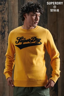 Superdry Limited Edition College Chenille Sweatshirt
