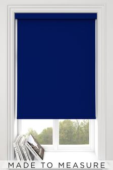 Haig Blueberry Blue Made To Measure Blackout Roller Blind