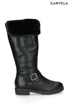 Carvela Black Samba Boots