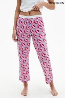 Calvin Klein Pink CK One Woven Sleep Pants