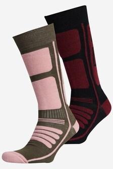 Superdry Mountain Merino Socks Two Pack