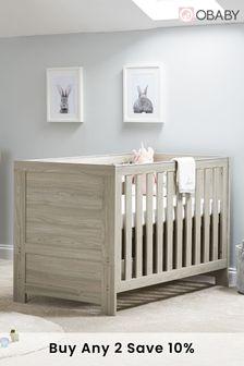 Obaby Nika Grey 2 Piece Furniture