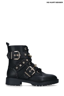 Kurt Geiger Black Trixabel Shoes