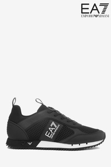 Emporio Armani EA7 Evolution Lace-Up Racer Trainers