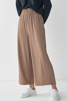 Tan Rib Trousers