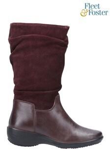 Fleet & Foster Margot Zip Mid Boots