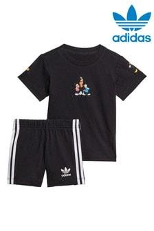adidas Originals Infant Disney T-Shirt And Shorts Set