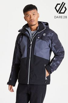 Dare 2b Black Testament Waterproof Ski Jacket