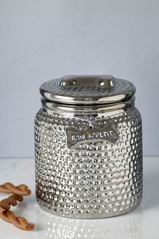 Silver Treat Jar