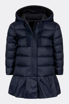 Baby Girls Navy Neila Jacket
