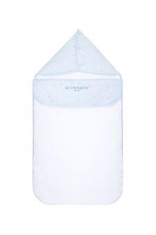 Baby Boys Blue Cotton Sleep Bag