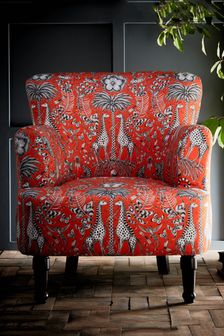 Kruger Flame Dalston Chair By Emma Shipley