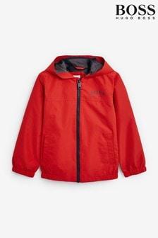 BOSS Red Logo Windbreaker Jacket