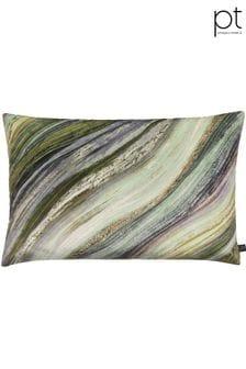 Heartwood Evergreen Feather Cushion by Prestigious Textiles