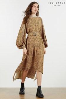 Ted Baker Rewbie Long Sleeve Printed Dress