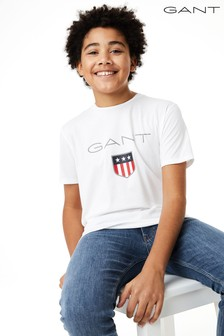 GANT Teen Boys Shield Logo T-Shirt
