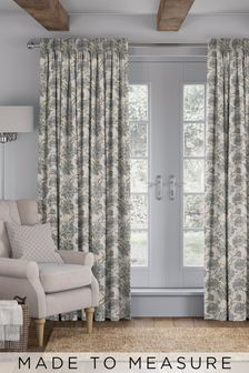 Cassandra Nordic Green Made To Measure Curtains